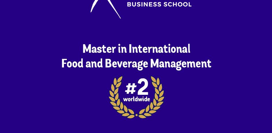 Eduniversal Ranking ESCP International Food and Beverage Management
