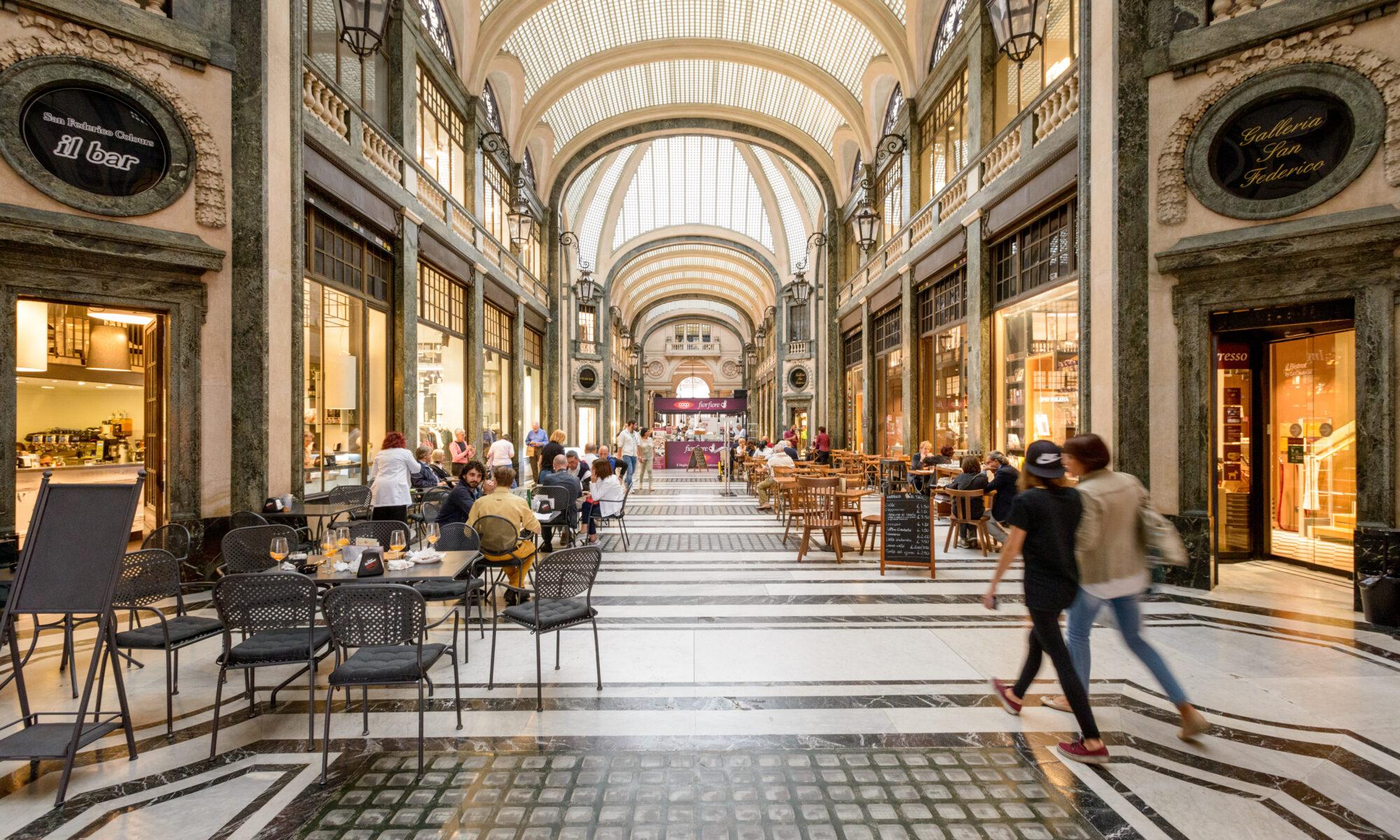 Turin, city centre